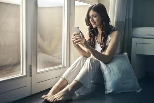 Titta på film i mobilen